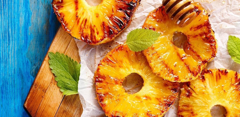 Sugar Glazed Pineapple BBQ
