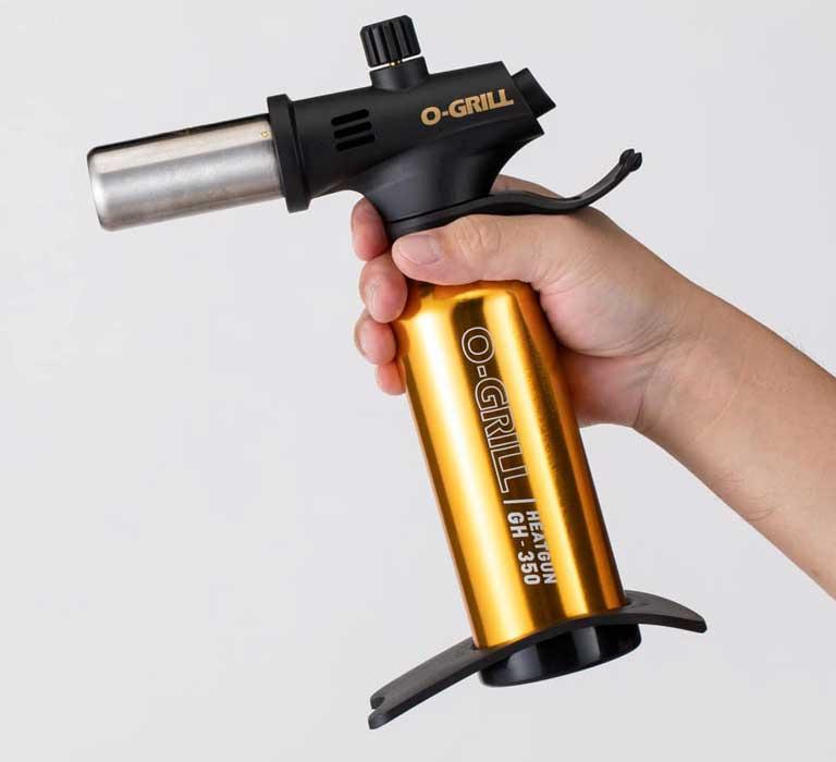 GH-350 Professional Culinary Heat Gun in the Hand